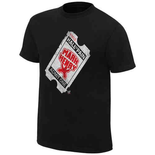 "Mark Henry ""Hall of Pain Ticket"" OTR T-Shirt"
