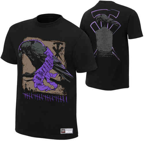 The Undertaker Tombstone Authentic T-Shirt