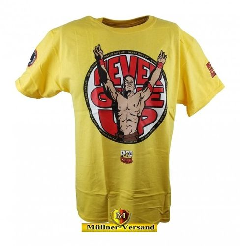 "John Cena ""U Can't C Me"" Yellow Authentic T-Shirt"