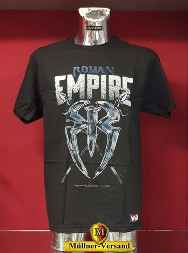 "Roman Reigns ""Roman Empire"" Kinder Authentic T-Shirt"
