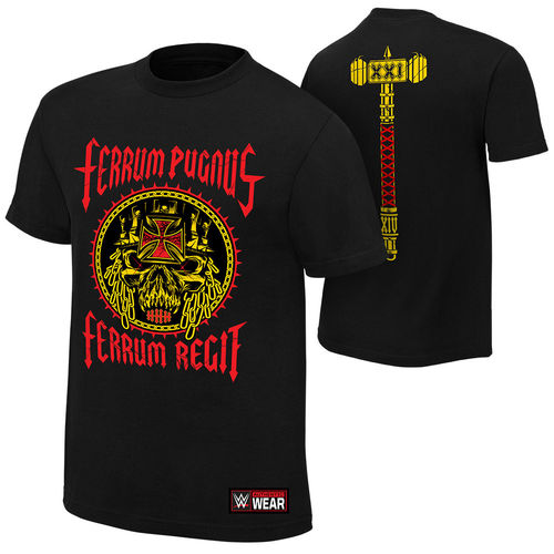 "Triple H ""Iron Fist, Iron Rule"" Authentic T-Shirt"