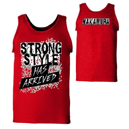"Shinsuka Nakamura ""Strong Style Has Arrived"" Tank Top"