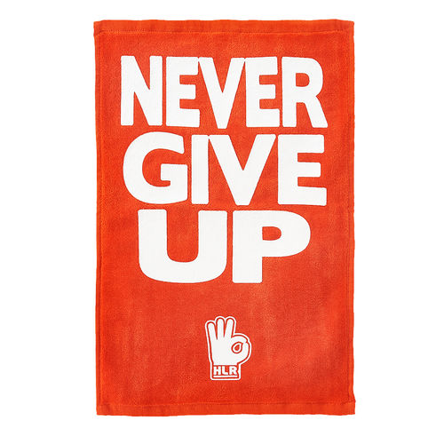 "John Cena ""Hustle Loyalty Respect"" Red Rally Towel"