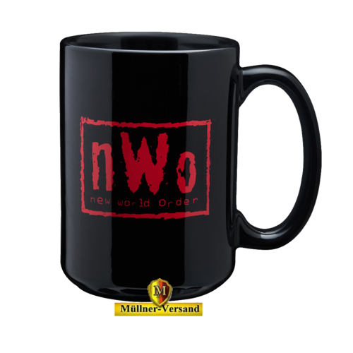 nWo Red & Black Tasse