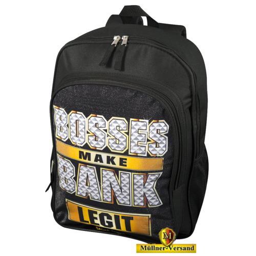 "Sasha Banks ""Bosses Make Bank"" Rucksack"