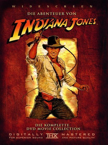 Indiana Jones - Die komplette DVD Movie Collection