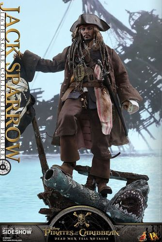 Pirates of the Caribbean Salazars Rache Movie Masterpiece DX Actionfigur 1/6 Jack Sparrow