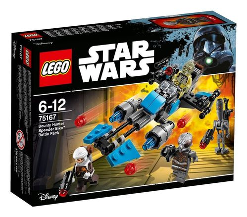 LEGO® Star Wars™ Battle Packs Bounty Hunter Speeder Bike™ Battle Pack