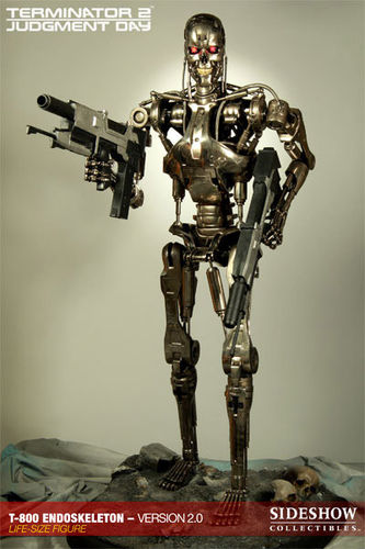 Terminator 2 Statue 11 T-800 Endoskeleton Version 2 190 cm