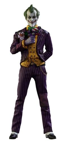 Batman Arkham Asylum Videogame Masterpiece Actionfigur 16 The Joker 31 cm