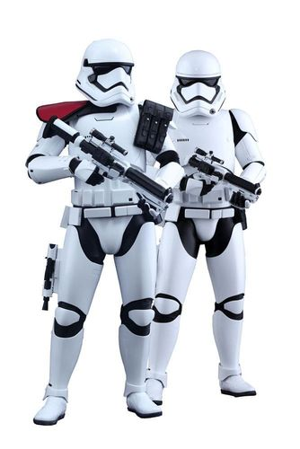 Star Wars Episode VII MMS Actionfiguren Doppelpack 1/6 First Order Stormtrooper & FOS Officer