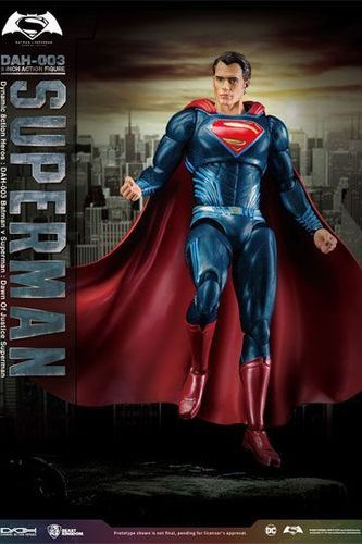 Batman v Superman Dynamic 8ction Heroes Actionfigur 1/9 Superman 20 cm