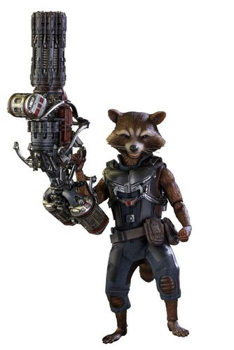 Guardians of the Galaxy Vol. 2 Movie Masterpiece Actionfigur 1/6 Rocket Raccoon Deluxe Ver. 16 cm