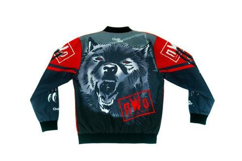 NWO WOLFPAC RETRO FANIMATION WWE JACKET