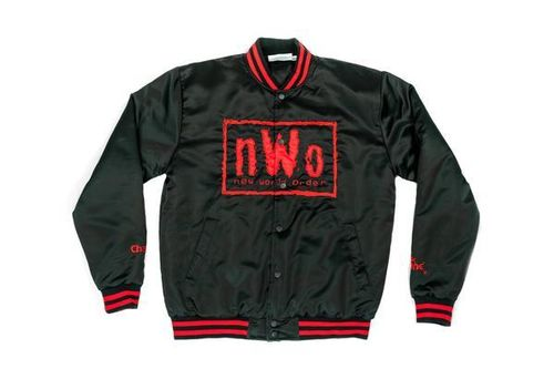 NWO WOLFPAC RETRO SATIN WWE JACKET