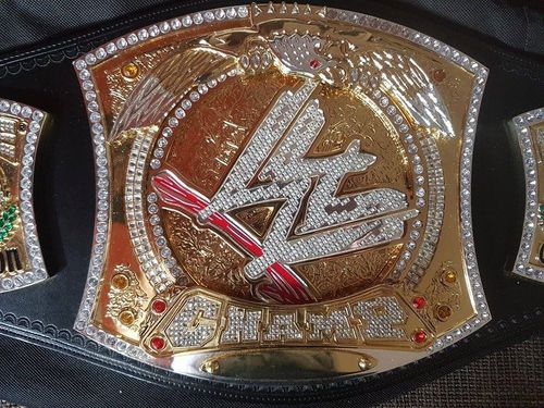 WWE Championship Spinner Replica Title Belt