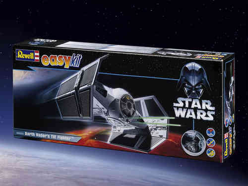 Star Wars EasyKit Modellbausatz 1/57 Darth Vaders TIE Fighter 16 cm
