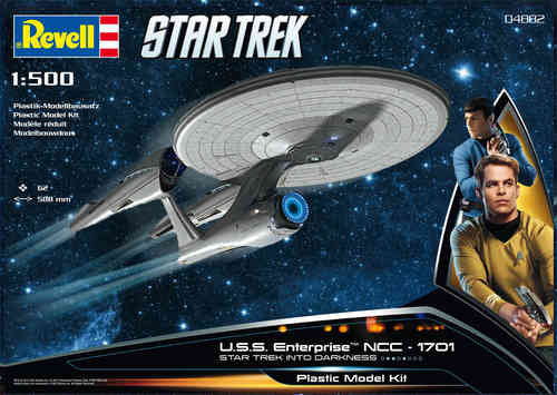 Star Trek Into Darkness Modellbausatz 1/500 U.S.S. Enterprise NCC-1701 59 cm