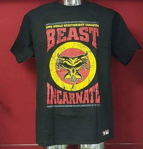 "Brock Lesnar ""Beast Incarnate"" Authentic T-Shirt"