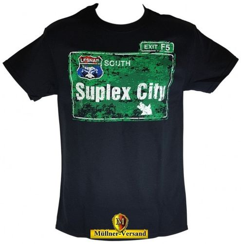 "Brock Lesnar ""Suplex City"" Authentic T-Shirt"