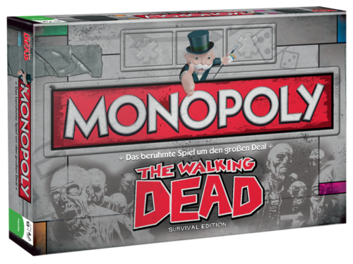 The Walking Dead Brettspiel Monopoly