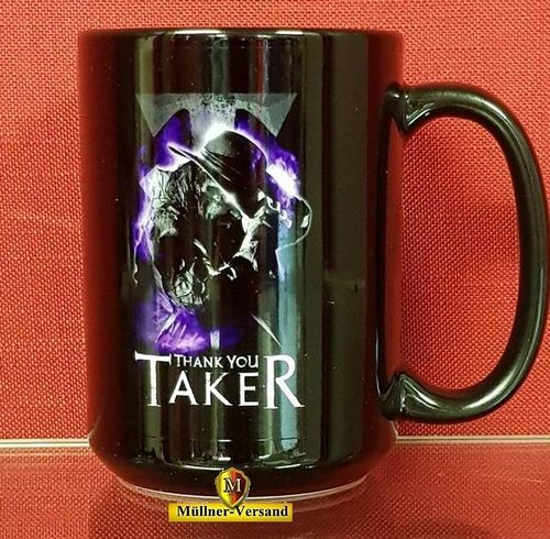"Undertaker ""Thank You Taker"" Tasse"