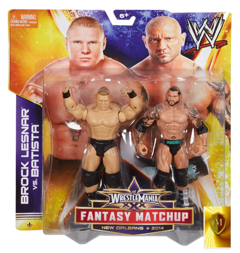 WWE WrestleMania Fantasy Match-Up Brock Lesnar & Batista