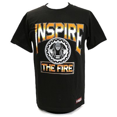 "Becky Lynch ""Inspire The Fire"" Women's Authentic T-Shirt"