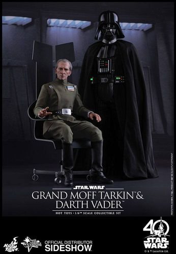 Star Wars Episode IV Movie Masterpiece Actionfiguren Doppelpack 1/6 Vader & Tarkin