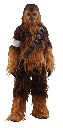 Star Wars Episode VII Movie Masterpiece Actionfigur 1/6 Chewbacca 36 cm