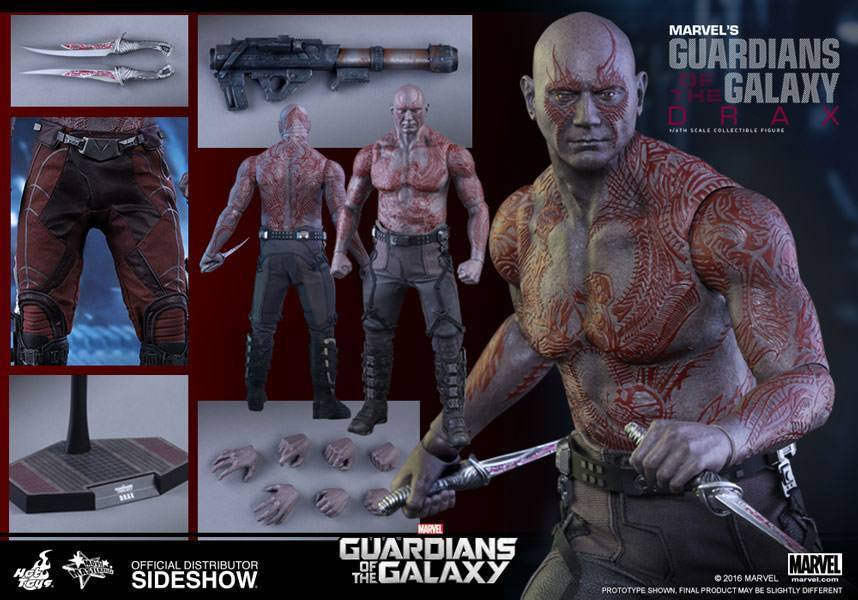 Guardians of the Galaxy Movie Masterpiece Actionfigur 1/6 Drax der Zerstörer 32 cm