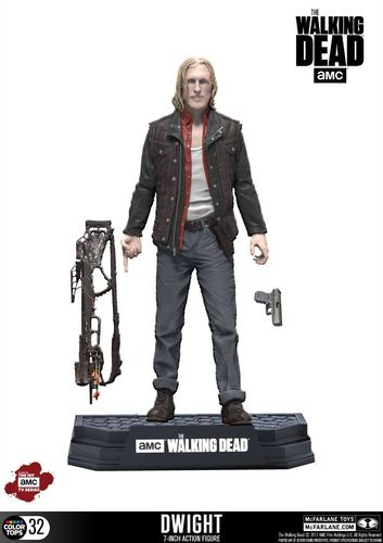 The Walking Dead TV Version Color Tops Actionfigur Dwight 18 cm