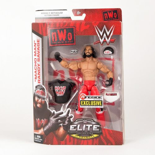 Macho Man Randy Savage (NWO Wolfpac) - WWE Ringside Exclusive