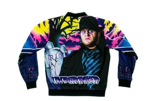 THE UNDERTAKER RETRO WWE FANIMATION JACKET