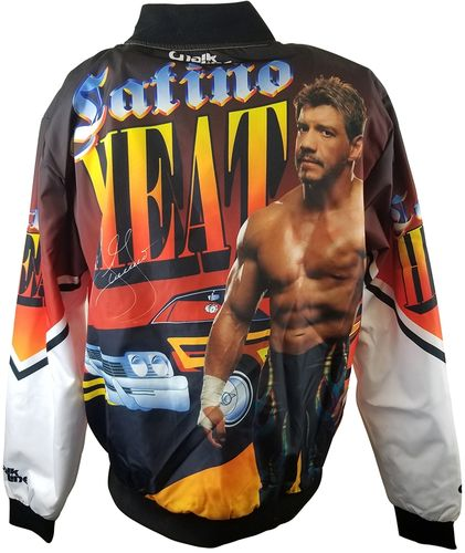 EDDIE GUERRERO RETRO WWE FANIMATION JACKET