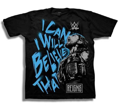 Roman Reigns I Can I Will Believe That T-Shirt