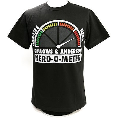 "Gallows & Anderson ""Nerd-O-Meter"" Authentic T-Shirt"