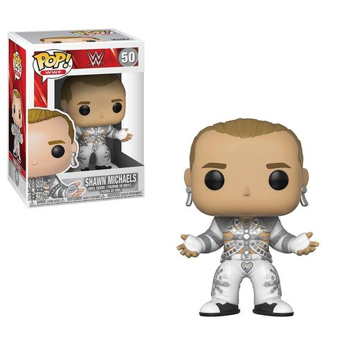 WWE POP! Vinyl Figur Shawn Michaels (WrestleMania 12)