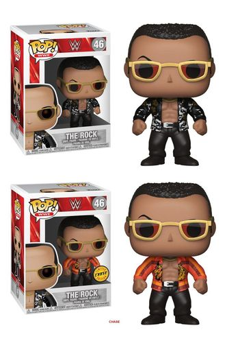 WWE Wrestling POP! WWE Vinyl Figuren The Rock Doppelpack