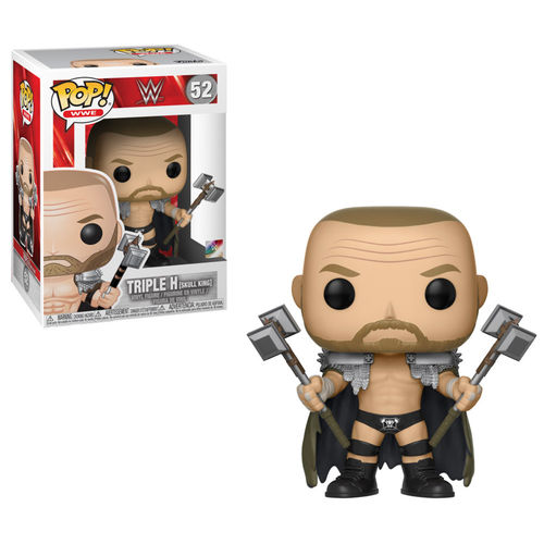 WWE POP! Vinyl Figuren Triple H Skull King 9 Classic