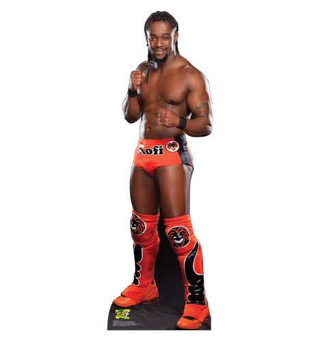 Kofi Kingston Pappaufsteller