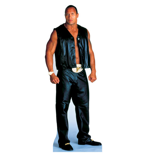 The Rock Pappaufsteller Black
