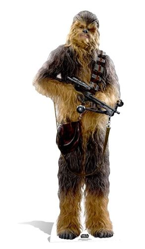 Chewbacca (The Force Awakens) Pappaufsteller