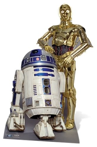The Droids (R2-D2) Star Wars Pappaufsteller