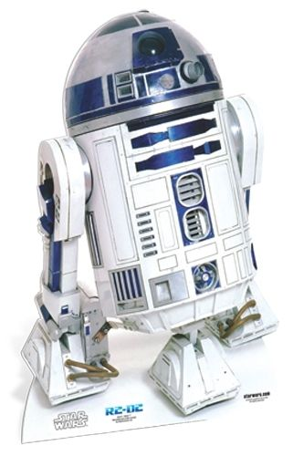 R2-D2 Star-Mini Star Wars Pappaufsteller