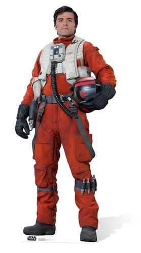 Poe Dameron (The Force Awakens) Pappaufstelller