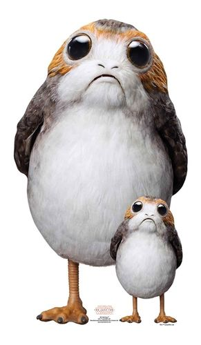 Porg (The Last Jedi) Star-Mini Star Wars Pappaufsteller