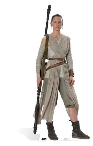 Rey (The Force Awakens) Pappaufsteller