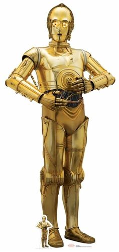 C-3PO (The Last Jedi) Star Wars Pappaufsteller