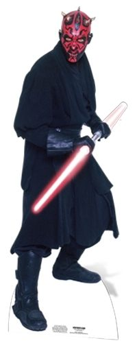 Darth Maul Pappaufsteller